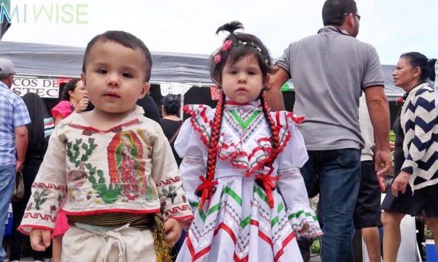 Celebración de la Virgen de Guadalupe en Homestead, Florida