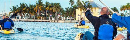 Cómo montar en canoa en Miami