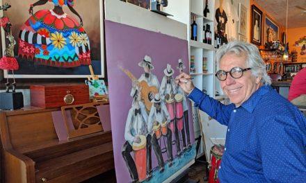 Agustín Gainza, cuando la fantasía y los sueños van más allá del arte